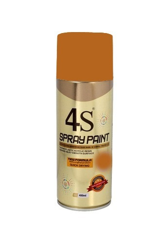 brown spray paint