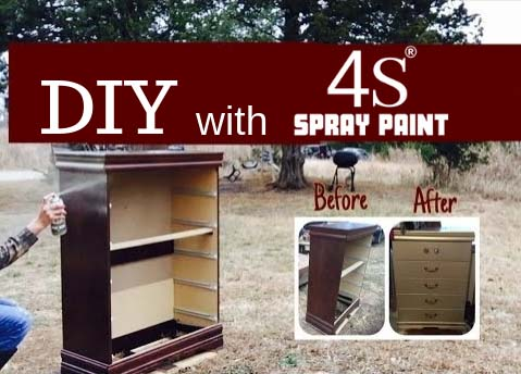 DIY with 4S Spray Paint