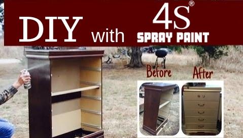 diy 4s spray paints