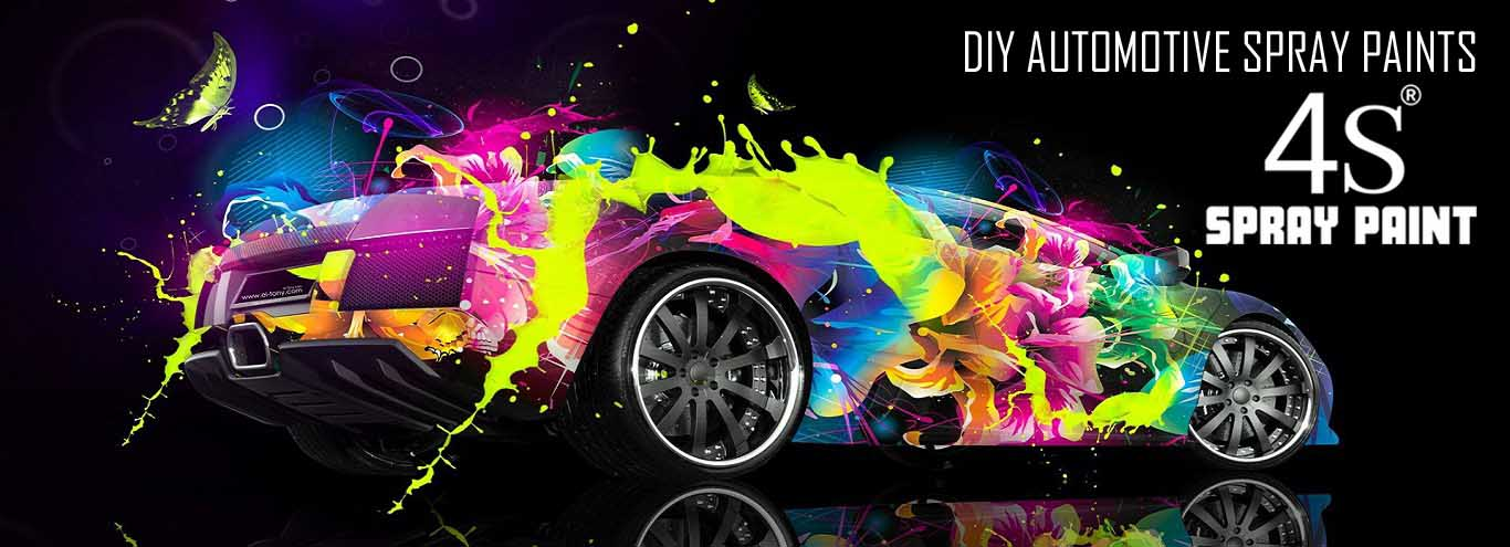 car spray painting