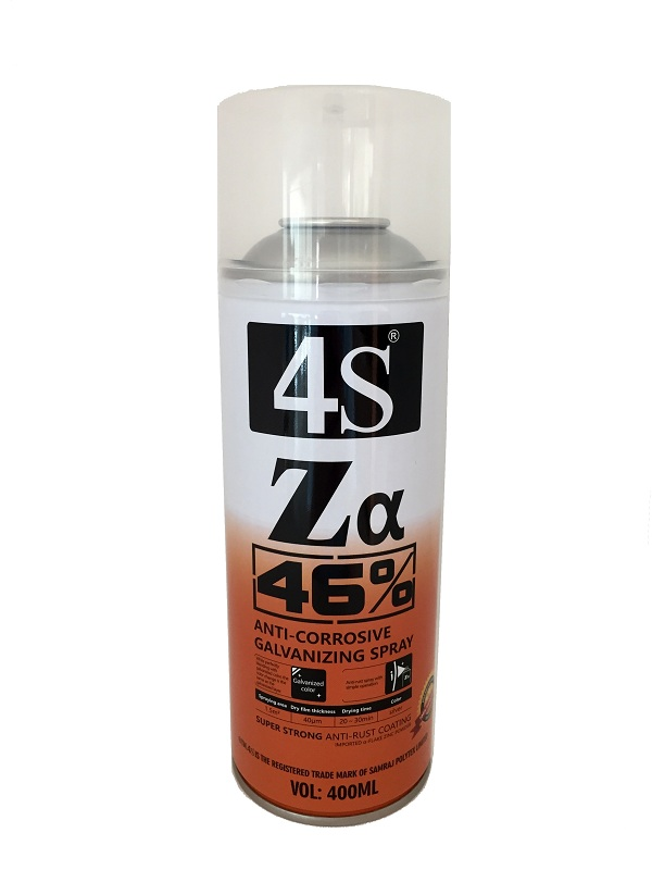 4S zinc galvanizing spray