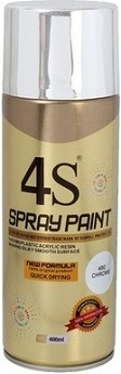 metallic chrome paint