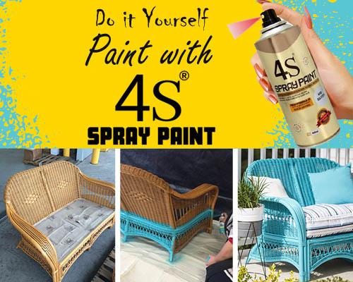 4S Aerosol Spray Paints