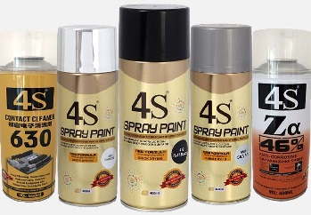 spray paint aerosols