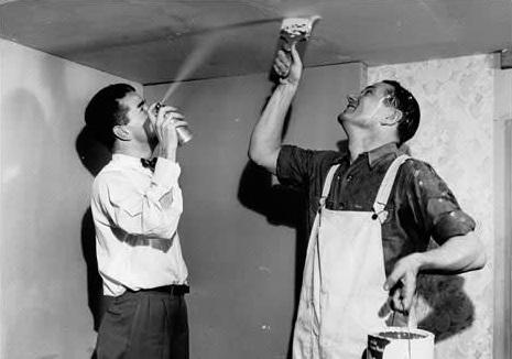 history of spray painting