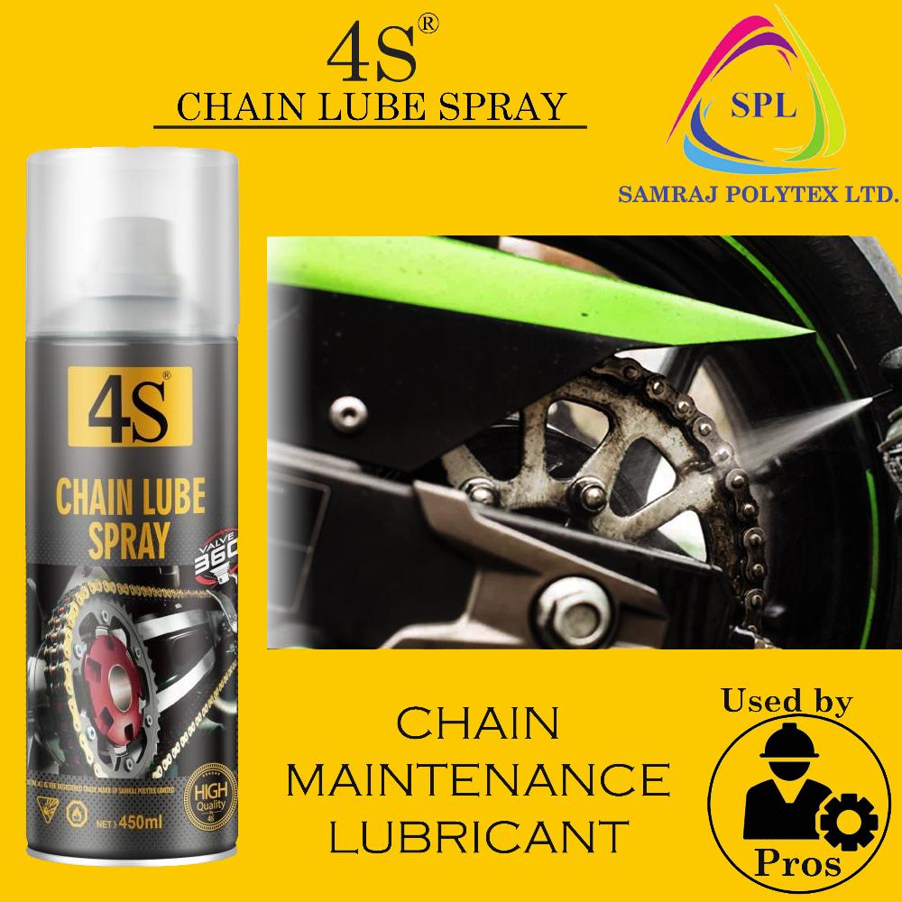CHAIN LUBE spray, chain lubricant spray