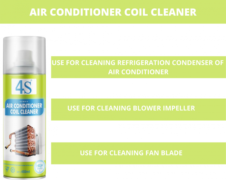 Air conditioner coil cleaner