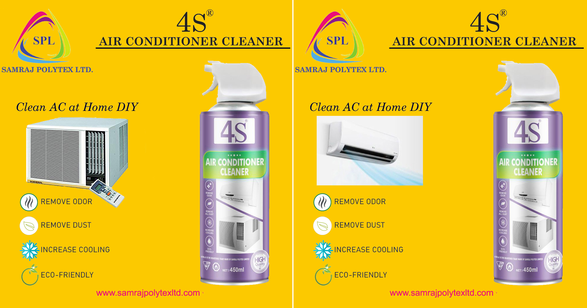 ac cleaner spray for window ac + split ac